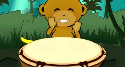 monkey drum