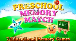 preschool memory match and learn